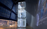 Kone Lantern elevator in Finnish Pavilion 'Kirnu' at Shanghai World Expo 2010, in Shanghai, China, on April 26, 2010. Photo by Lucas Schifres/Pictobank
