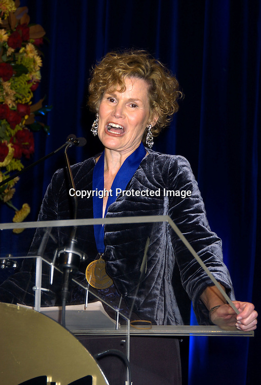 Judy Blume ..at the National Book Awards on November 17, 2004 at The Marriott Marquis. Photo by Robin Platzer, Twin Images