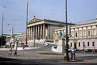 Vienna: The Ringstrasse--Parliament. Theophil Hansen, architect, 1873-1883. Photo '87.