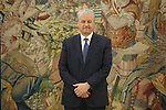 Abdelmalek Sellal, Prime Minister of Algeria, during an official meeting with King Felipe VI of Spain at Zarzuela Palace in Madrid, Spain. July 21, 2015. (ALTERPHOTOS/Victor Blanco)