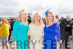 Enjoying Ladies Day at the Listowel Races on Friday were: Noreen Flaherty, Mary Maher, Christina Buckley from Lixnaw