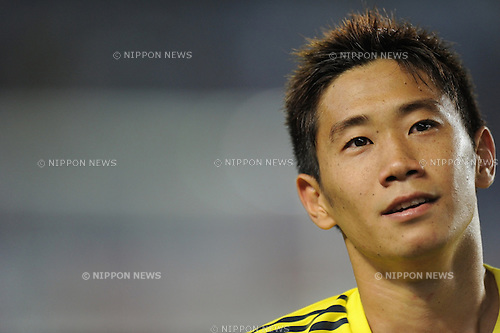 Shinji Kagawa (JPN),<br /> AUGUST 14, 2013 - Football / Soccer :<br /> Shinji Kagawa of Japan after the Kirin Challenge Cup 2013 match between Japan 2-4 Uruguay at Miyagi Stadium in Miyagi, Japan. (Photo by Takahisa Hirano/AFLO)