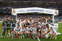 Real Madrid's Champions Santiago Bernabeu Trophy