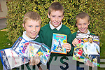 Taking part in the Repak recycling swap shop in Kilgobnet National School, Beaufort on Friday were Jonathan Kissane, Jack O'Leary and Ian McGillycuddy.