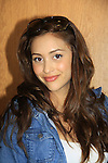 General Hospital Lindsey Morgan donates time at SoapFest's Celebrity Weekend - Art for Autism when the actors & kids make paintings for auction to benefit Autism on November 10, 2012 Marco Island, Florida. For info www.autism-society.org or www.autismspeaks.org. (Photo by Sue Coflin/Max Photos)