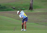 Shanshan Feng (CHN) in action on the 1st during Round 2 of the HSBC Womens Champions 2018 at Sentosa Golf Club on the Friday 2nd March 2018.<br /> Picture:  Thos Caffrey / www.golffile.ie<br /> <br /> All photo usage must carry mandatory copyright credit (&copy; Golffile | Thos Caffrey)