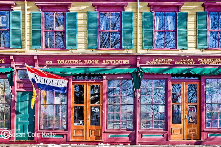 Antique shop in Newport, RI
