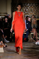 Dennis Basso<br />  catwalk fashion show at New York Fashion Week<br /> Spring Summer 2018<br /> in New York, USA September 2017.<br /> CAP/GOL<br /> &copy;GOL/Capital Pictures