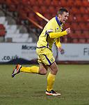 James Fowler scores for Kilmarnock and celebrates
