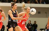 10th September 2017, PG Arena, Napier, New Zealand; Taini Jamison Netball Trophy, New Zealand versus England;  New Zealands Kayla Cullen