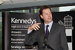 Pix: Shaun Flannery/shaunflanneryphotography.com...COPYRIGHT PICTURE>>SHAUN FLANNERY>01302-570814>>07778315553>>..1st October 2010...........Opening of Kennedys new offices, Sheffield by the Deputy Prime Minister Nick Clegg.