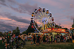 Fairgoers crowd the fairgrounds during the NV150 Fair at Fuji Park in Carson City, Nev., on Saturday, August 2, 2014.<br /> (Photo By Kevin Clifford)