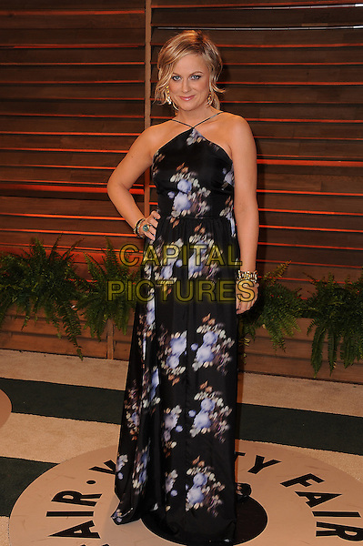 WEST HOLLYWOOD, CA - MARCH 2: Amy Poehler arrives at the 2014 Vanity Fair Oscar Party in West Hollywood, California on March 2, 2014.  <br /> CAP/MPI/MPI213<br /> &copy;MPI213/MediaPunch/Capital Pictures
