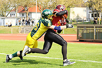 Touchdown Crusaders - 08.04.2017: Rüsselsheim Crusaders vs. Nauheim Wildboys, Stadion am Sommerdamm