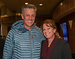 "Brian and Leslie Smith attend the screening of Warren Miller's film ""Line of Descent"" at the Reno Ballroom on Saturday, Nov. 4, 2017 in downtown Reno."