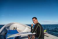 Namotu Island, Fiji (Sunday, May 31, 2015) Adriano de Souza (BRA)  heading for a surf session. -  Photo: joliphotos.com