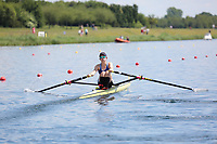 Race: 47  Event: Women's Lightweight Single Sculls - Heat 1<br /> <br /> National Schools Regatta 2018<br /> Sunday<br /> <br /> To purchase this photo, or to see pricing information for Prints and Downloads, click the blue 'Add to Cart' button at the top-right of the page. The Metropolitan Regatta 2018