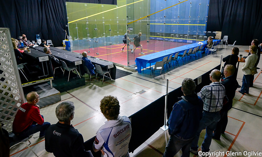 6th Annual Simon Warder Memorial Squash tournament. <br /> <br /> Professional Squash Association (PSA) sanctioned tournament draws players from around the world including those ranked  in the top 100.<br /> <br /> incredible new ShowGlassCourt that will be set up in the middle of the Huron Oaks gym which allows fans to watch these amazing players from a 360 degree viewpoint.&quot;comments Brant Jacklin a committee member and major sponsor of the tournament. &quot;The glass court has a stunning visual appearance and it allows viewers to fully appreciate the speed and skill that these professionals bring to the game, there are very few tournaments in Canada or North America that have this type of court.&quot; adds Jacklin, owner of Alliance Fabricating.  <br /> <br /> <br /> <br /> The Simon Warder Memorial Squash Tournament is named after a local Sarnia man who was actively involved with squash. Simon was instrumental in the formation of the Sarnia Junior Squash Program, an active member of Squash Canada as part of the Masters Doubles committee, an accomplished player and a National level squash referee.