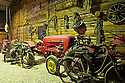 09/05/11 - RIOM - PUY DE DOME - FRANCE - Musee Guy BASTER. Old tractors in Guy BASTER museum - Photo Jerome CHABANNE