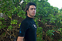 Pierre Louis Costes at Rocky Pt on the Northshore of Oahu in Hawaii.