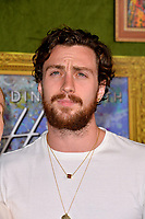 LOS ANGELES, CA. October 04, 2018: Aaron Taylor-Johnson at the Los Angeles premiere for &quot;My Dinner With Herve&quot; at Paramount Studios.<br /> Picture: Paul Smith/Featureflash