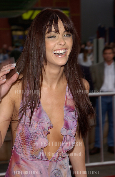 Actress SUMMER ALTICE at the world premiere, in Los Angeles, of her new movie The Scorpion King..17APR2002.