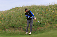 Jamie Sutherland (Galgorm Castle) on the 15th during Round 2 of The East of Ireland Amateur Open Championship in Co. Louth Golf Club, Baltray on Sunday 2nd June 2019.<br /> <br /> Picture:  Thos Caffrey / www.golffile.ie<br /> <br /> All photos usage must carry mandatory copyright credit (© Golffile | Thos Caffrey)