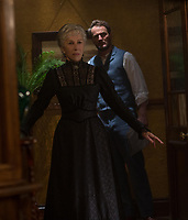 Helen Mirren &amp; Jason Clarke<br /> Winchester (2018) <br /> *Filmstill - Editorial Use Only*<br /> CAP/RFS<br /> Image supplied by Capital Pictures