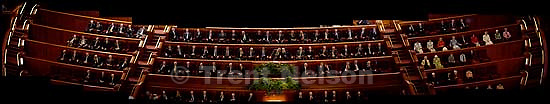 First presidency, general authorities, church leadership. LDS General Conference in the conference center.<br />