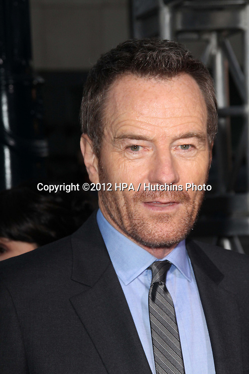 """LOS ANGELES - OCT 4:  Bryan Cranston arrives at the """"ARGO"""" Premiere at Samuel Goldwyn Theater on October 4, 2012 in Beverly Hills, CA"""