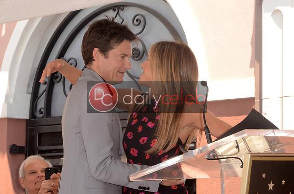 Jason Bateman, Jennifer Aniston<br /> at the Jason Bateman Star on the Hollywood Walk of Fame, Hollywood, CA 07-26-17<br /> David Edwards/DailyCeleb.com 818-249-4998