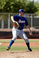 Chad Bell - Texas Rangers 2009 Instructional League.Photo by:  Bill Mitchell/Four Seam Images..