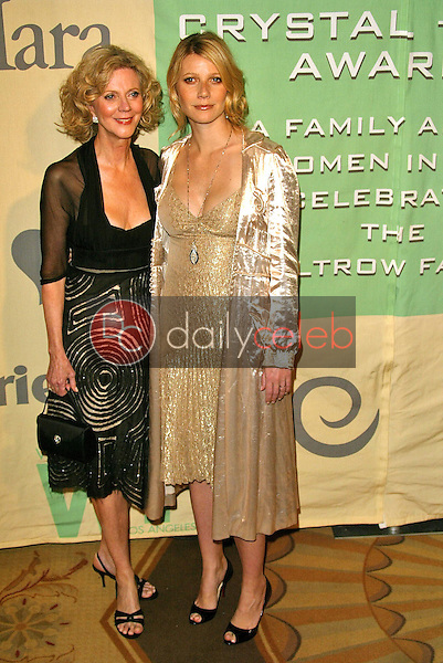 Blythe Danner and daughter Gwyneth Paltrow