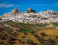 Spanien, Andalusien, Provinz Cádiz, Olvera: weisses Dorf | Spain, Andalusia, Province Cádiz, Olvera: pueblo blanco