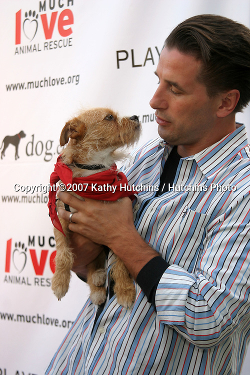 "Billy Baldwin.""BowWowWOW"" Fundraiser to benefit Much Love Animal Rescue.Playboy Mansion.Westwood, CA.July 14, 2007.©2007 Kathy Hutchins / Hutchins Photo...."