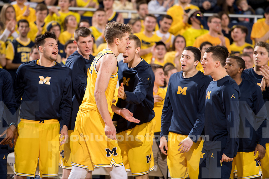 1/4/17 The University of Michigan men's basketball team falls to Maryland, 77-70, at Crisler Center in Ann Arbor, MI.