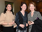 Kaern Donnelly Quinn, Brona Keenan and Niamh Kelly pictured at the Women In Sport Lunch at City North Hotel. Photo:Colin Bell/pressphotos.ie