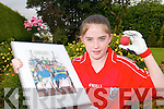 ART ATTACK: Catriona Caset from Ballydesmond who is the face of August in the 2007 Centre calender..