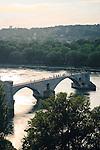 Pont Saint-Bénezet over the Rhône River, Avignon, France