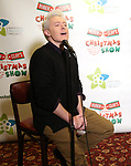 """Clay Aiken attend the Broadway Preview Photo Call for """"Ruben & Clay's First Annual Christmas Carol Family Fun Pageant"""" at Sardi's on November 15, 2018 in New York City."""