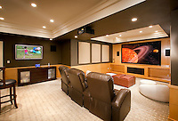 Movie Theater/Entertainment Area with Automation