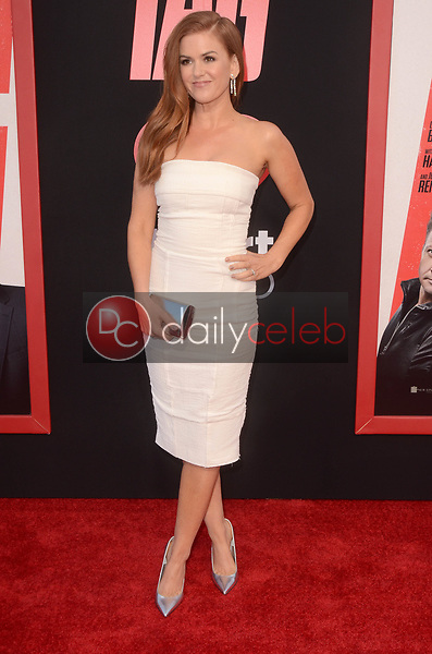 """Isla Fisher<br /> at the """"Tag"""" World Premiere, Village Theater, Westwood, CA 06-07-17<br /> David Edwards/DailyCeleb.com 818-249-4998"""