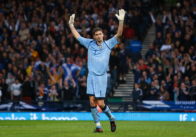 Craig Gordon, Scotland