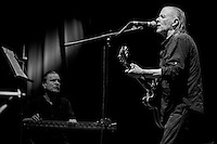 The Swans perform during Roma Incontra Il Mondo festival at Villa Ada, Rome, Italy, on 15 July 2015.<br /> In this picture Michael Gira, singer of the band.<br /> Photo by Valeria Magri