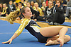 Amanda Ferraro of Bethpage performs her floor routine during a Nassau County varsity gymnastics meet against Massapequa at Jamaica Avenue School in Plainview on Wednesday, Dec. 21, 2016.