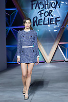 Sara Sampaio walks the runway during Fashion For Relief Cannes 2018 during the 71st annual Cannes Film Festival at Aeroport Cannes Mandelieu on May 13, 2018 in Cannes, France.<br /> CAP/NW<br /> &copy;Nick Watts/Capital Pictures