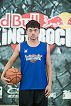 Aaron poses for a portrait ahead the Red Bull King of the Rock Taiwan National Finals on July 18, 2015 at the Kaohsiung University basketball court in Kaohsiung, south Taiwan. Photo by Victor Fraile / Power Sport Images