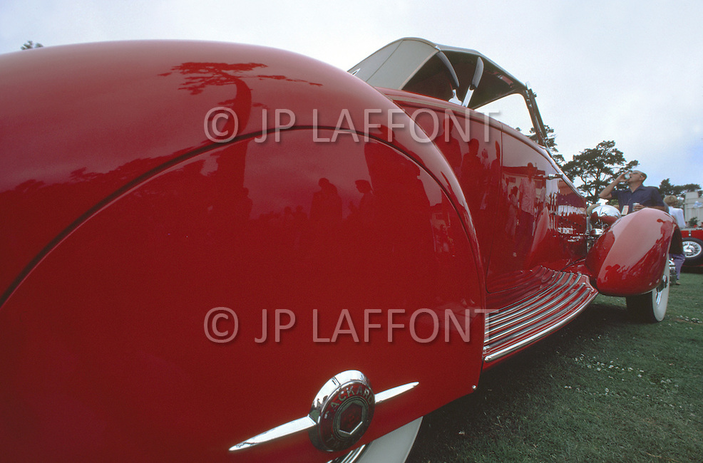 August 26th, 1984. 1932 Packard J568 Coupe Roadster Model Le Baron.