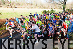 The runners take off at the start of the Gneeveguilla AC winter race series in Killarney on Saturday
