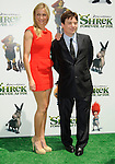 "UNIVERSAL CITY, CA. - May 16: Cameron Diaz and Mike Myers arrive at the ""Shrek Forever After"" Los Angeles Premiere at Gibson Amphitheatre on May 16, 2010 in Universal City, California."